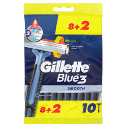 Gillette Einwegrasierer Blue Simple3 1 GRATIS 4